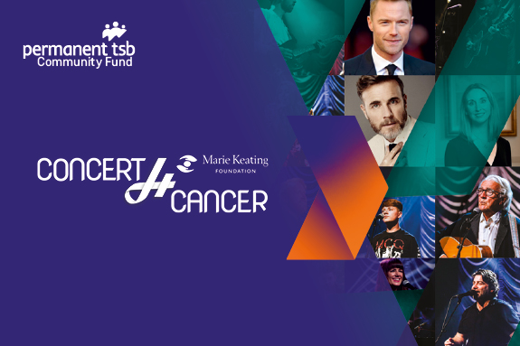 A Concert4Cancer brought to you by the permanent tsb Community Fund
